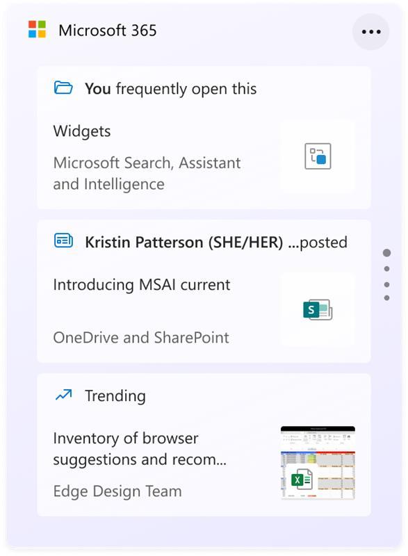 Microsoft 365 Widget xuất hiện trong phiên bản Windows 11 mới phát hành